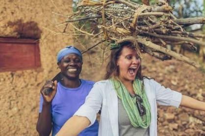 Lydia Criss Mays. Photo by Bobby Neptune. Kayonza, Rwanda